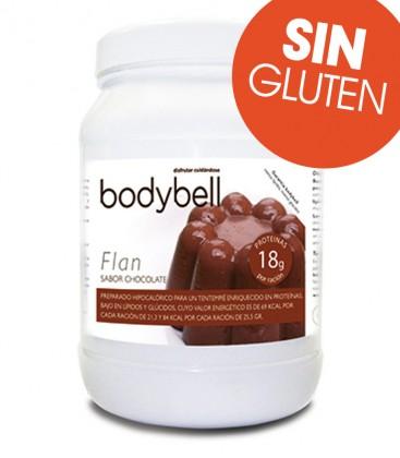 Bodybell Flan Sabor Chocolate bote