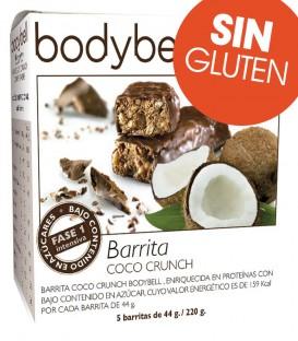 Bodybell Barritas sabor Coco caja