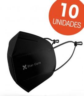 Mascarilla FFP2 Negra 10 uds