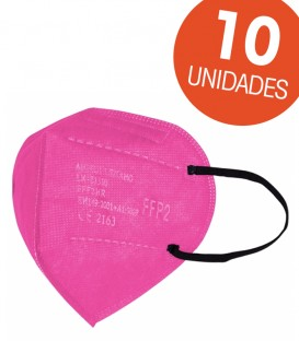 Mascarilla FFP2 Rosa 10 uds