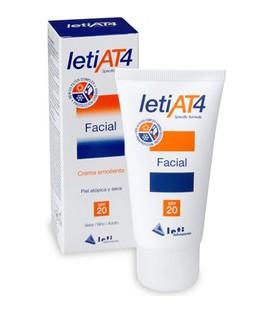 LetiAT4® Facial SPF20 para piel atópica (50 ml.)