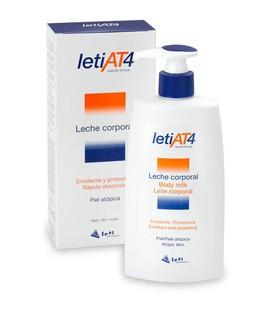 LetiAT4® leche corporal para piel atópica