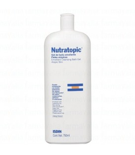 Isdin Nutratopic Gel baño Emoliente Piel Atópica (750 ml.)