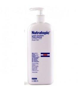 Isdin Nutratopic Loción Emoliente para piel atópica (400 ml.)