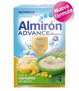 Almirón ADVANCE Cereales sin gluten