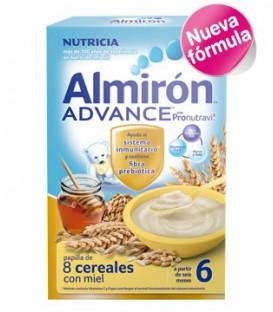 Almirón ADVANCE 8 Cereales Miel